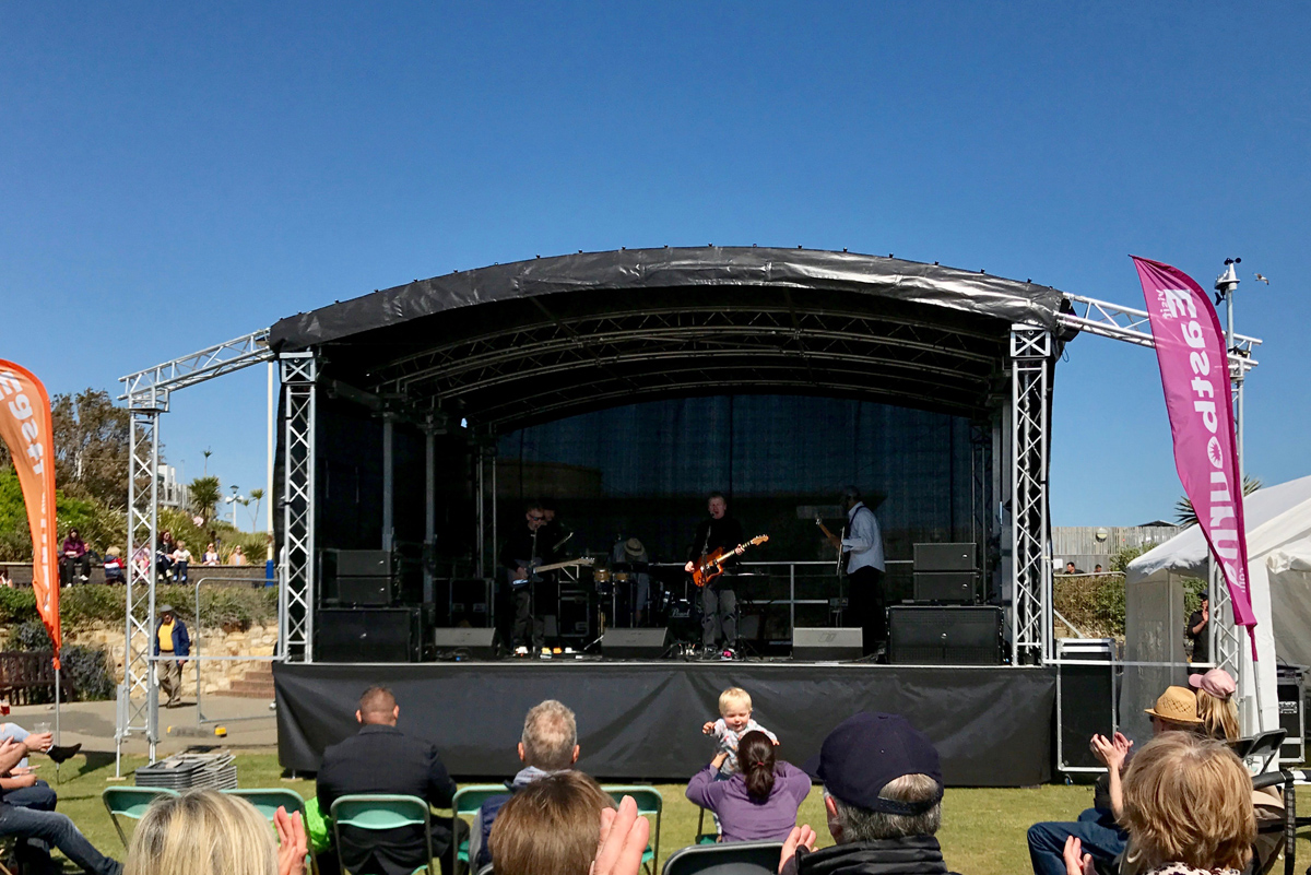 GiGstage Mobile Stage Eastbourne