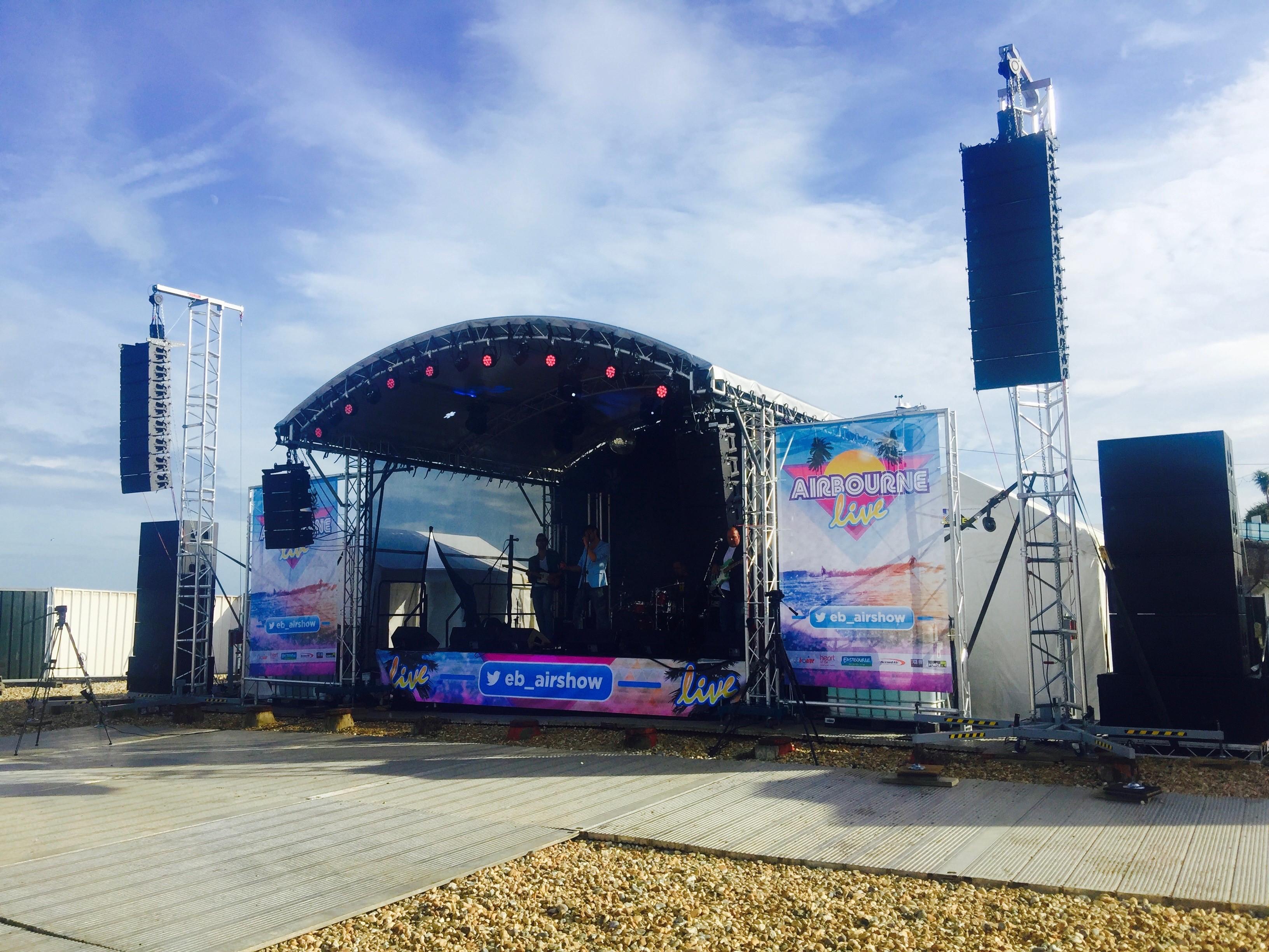 Live Stage Eastbourne Airbourne