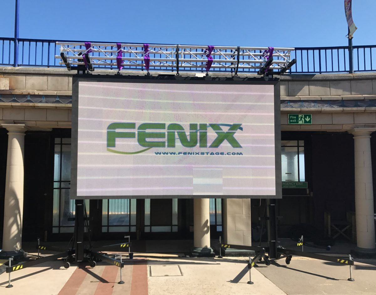 Fenix Stage at Eastbourne Bandstand