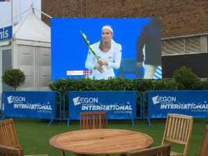 LED Screen Eastbourne Tennis