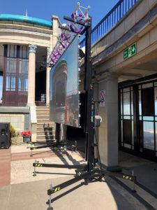 LED Screen Eastbourne Bandstan
