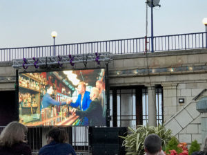 LED Screen Eastbourne Bandstan
